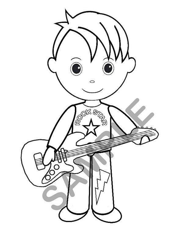 Personalized Printable Boy Rockstar Birthday Party Favor Etsy Birthday Party Favors Rockstar Birthday Rockstar Birthday Party