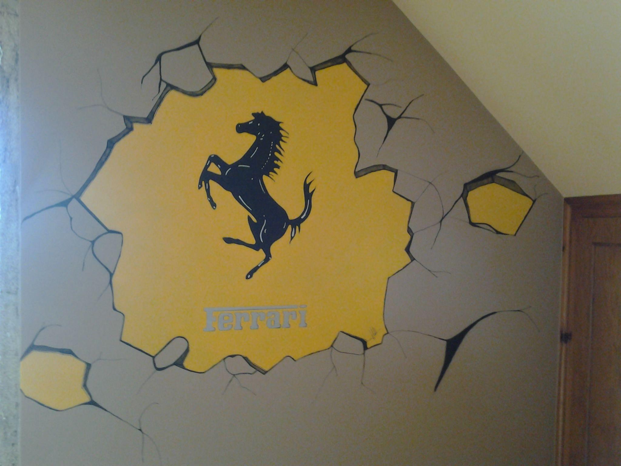 Pared imitacion rota. | Gallery wall decoration | Pinterest | Wall ...