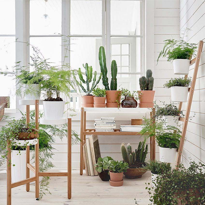 Ikea Indoor Garden: Via @ecodeer On Instagram
