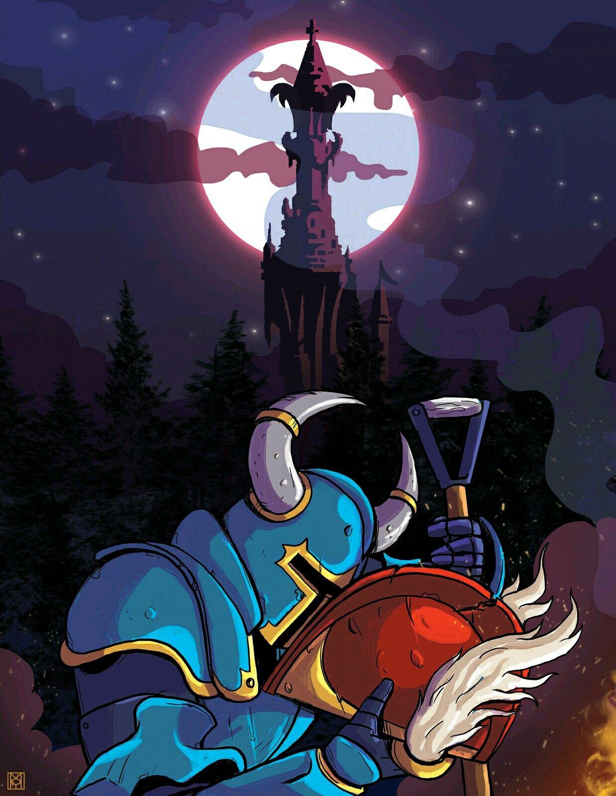 Shovel Knight Tower Knight Shovel Knight Game Art