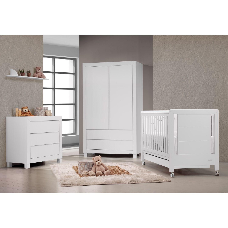 TRAMA Kinderzimmer in weiß mit Babybett Kollektion INOVA