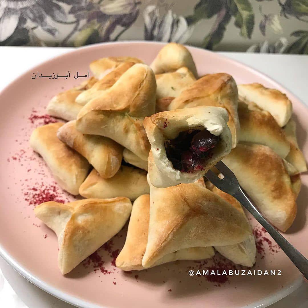Chef Aseel On Instagram فطائر السبانخ اللذيذه من حساب الجميلة Amalabuzaidan2 مقادير حشوة السبانخ نحمس البص Arabic Food Food Recipes