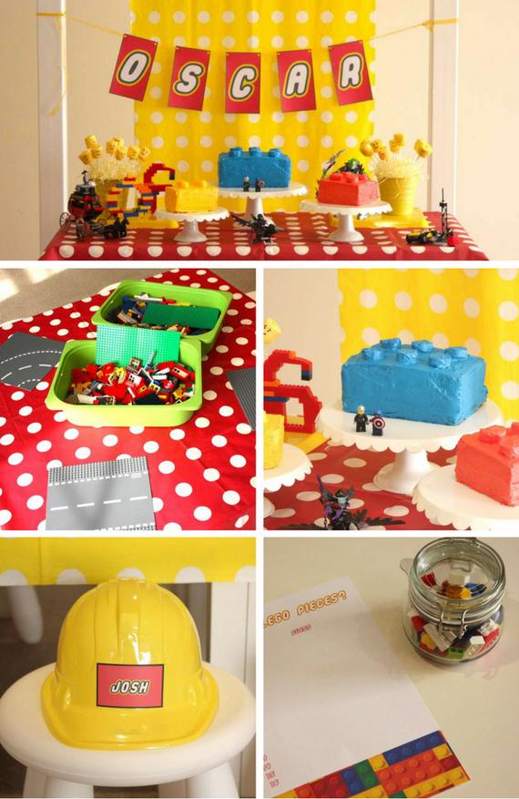 Lego Construction Party Lego Party Lego Baby Lego Party Decorations