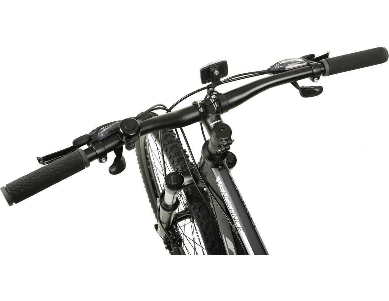 Carrera Vengeance Mens Mountain Bike Black Xs S M L Xl