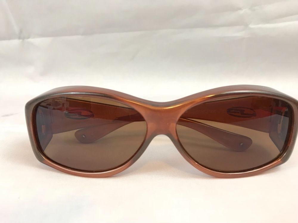 76a8a6fb4a Jonathan Paul Brown Polarized UV 400 Fitover Sunglasses  JonathanPaul   Fitovers