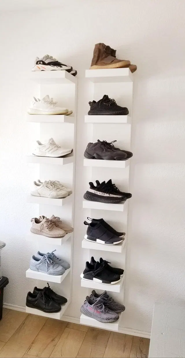 39 Simple Shoe Storage Ideas That Will Declutter Your Hallway | Posh Pennies