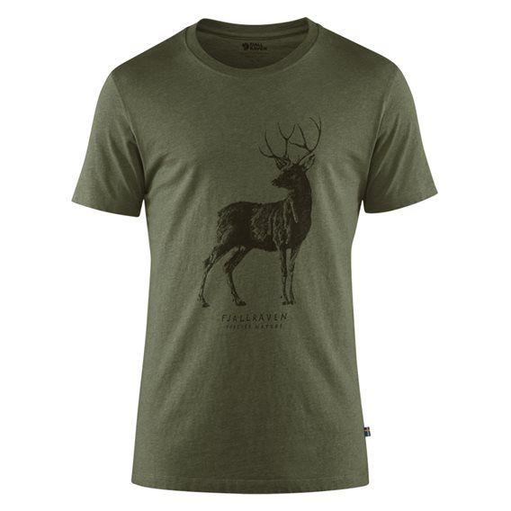 pretty nice ba5df ff6f4 Fjällräven Deer Print T-Shirt Herren Freizeit und Outdoor ...