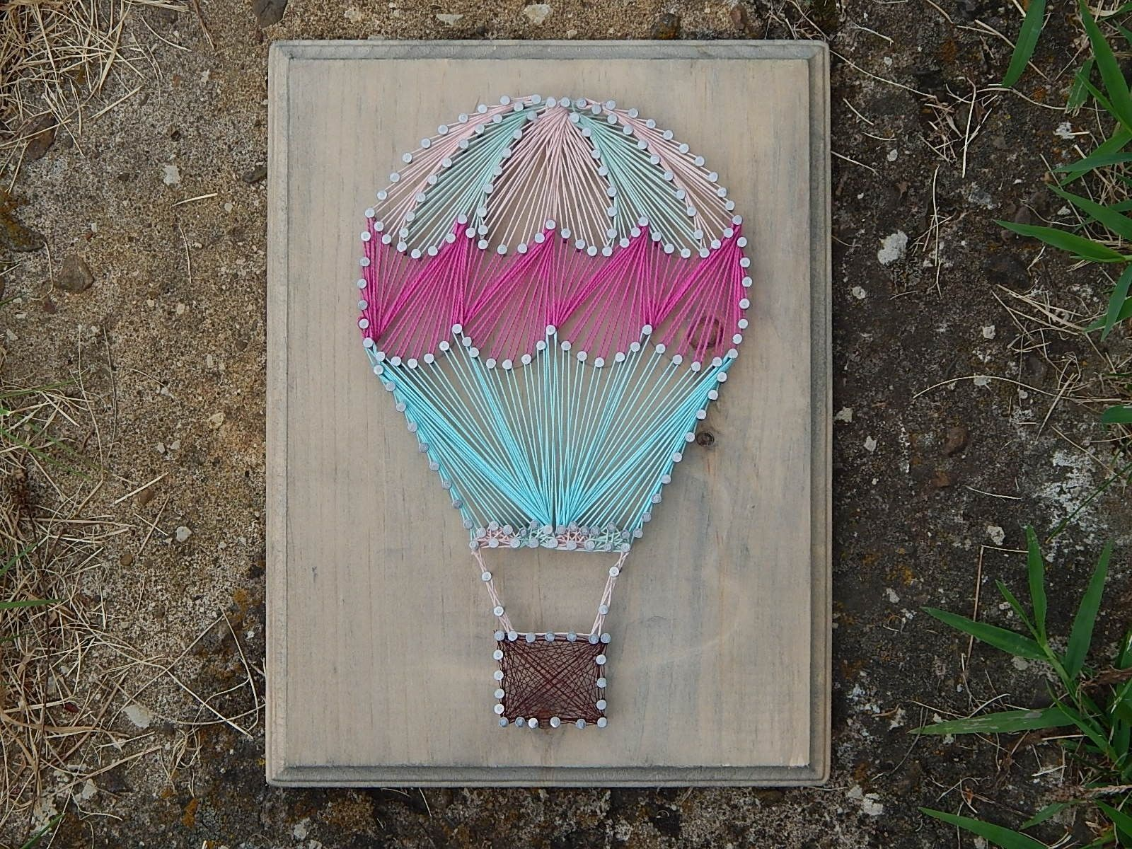 Uncategorized String Art Balloons hot air balloon string art wood metal home decor pinterest art