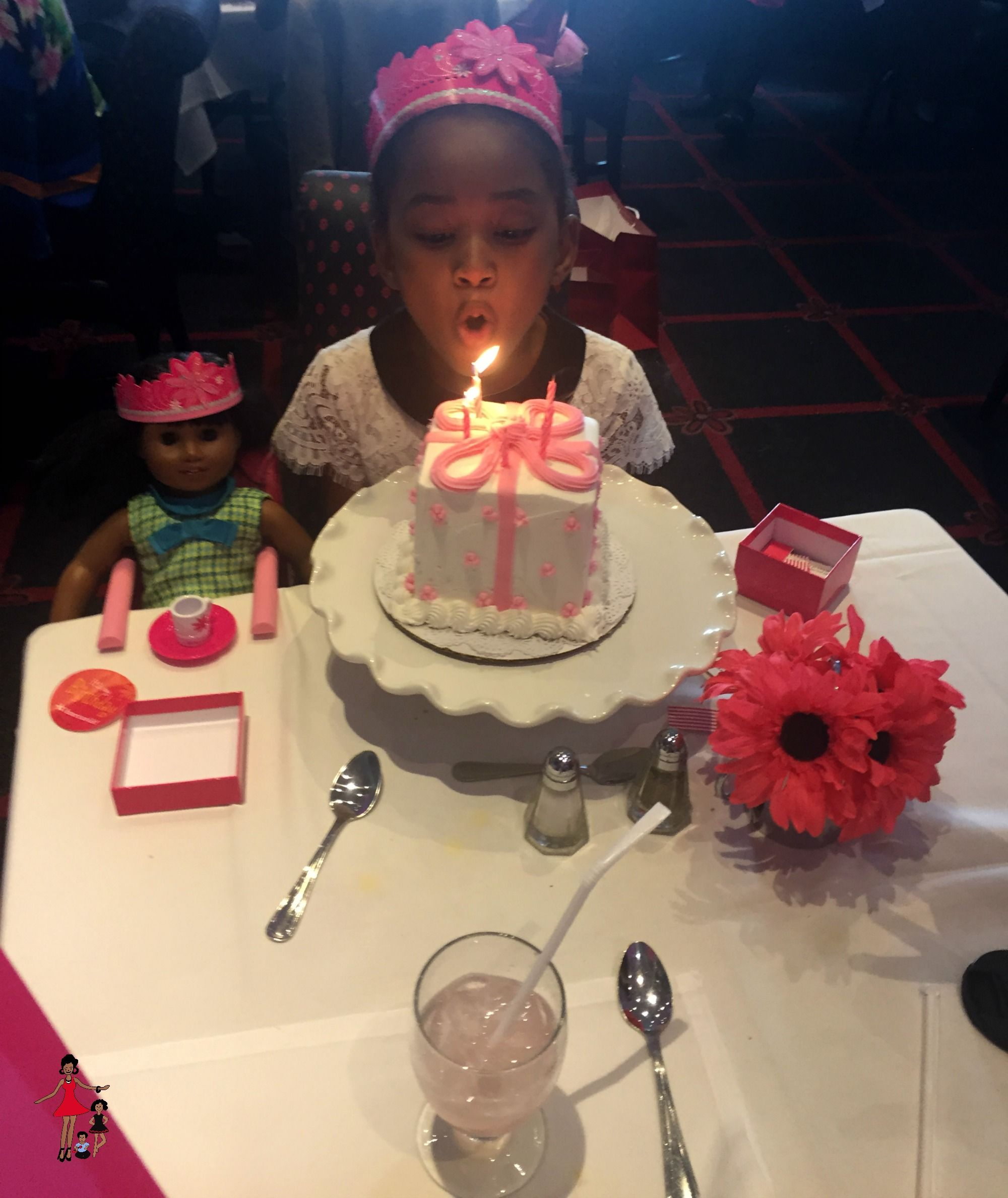 American Girl Birthday Celebration Candles