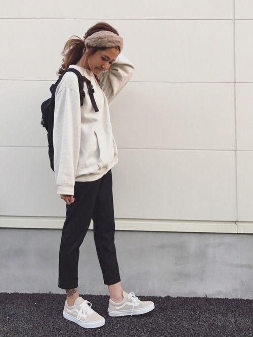 Kayo Cruce Anapのヘアバンドを使ったコーディネート ファッション