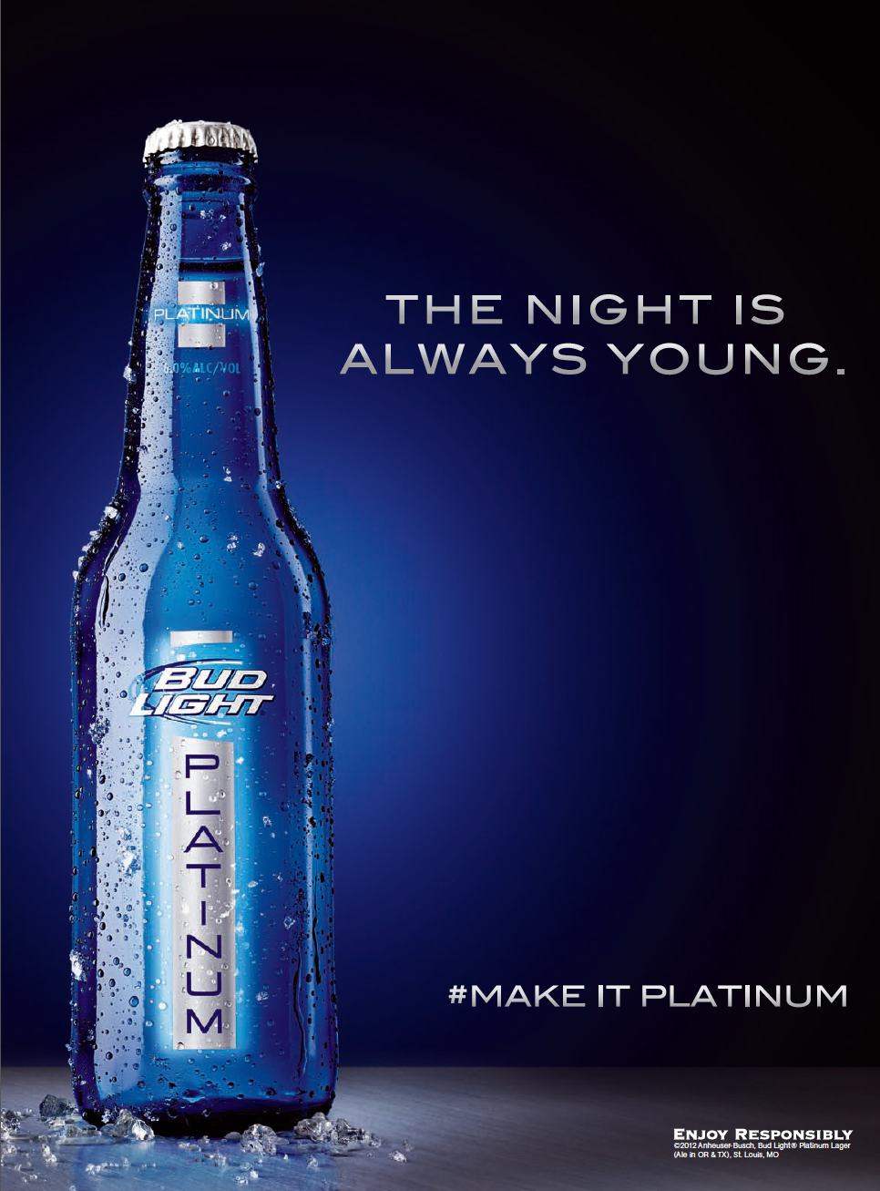 platinum watch commercial bud youtube light dueling aoki steve djs