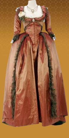 Costume for Keira Knightley from The Duchess.