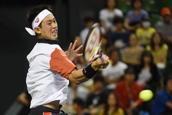 Kei Nishikori Photos - Rakuten Open: Day 3 - Zimbio