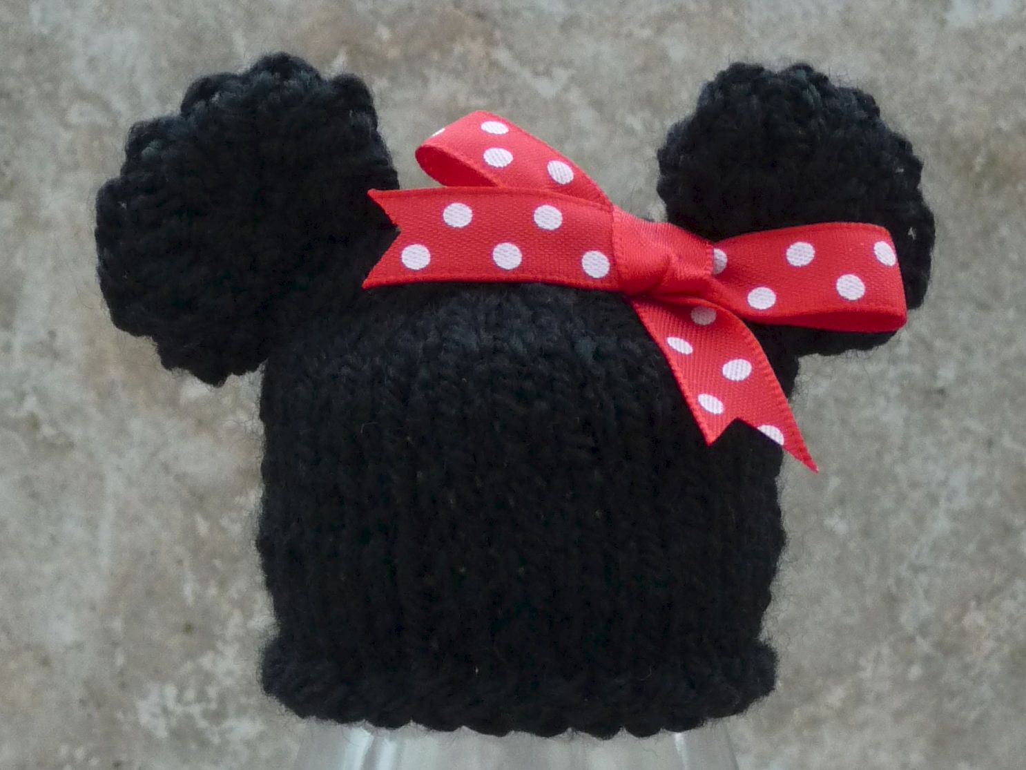 Innocent Smoothies Big Knit Hats - Minnie Mouse free knitting ...