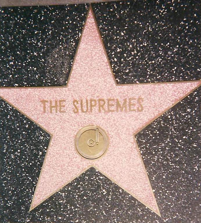 March 11 1994 The Supremes Are Awarded A Star On The Hollywood