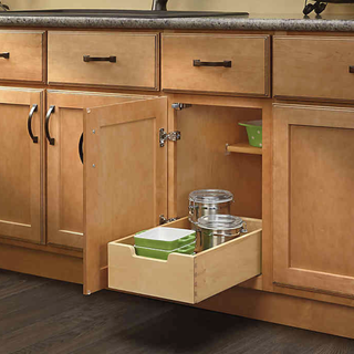 You Need This Simple Thing To Double Your Kitchen Cabinet Space Rev A Shelf Stackable Shelves Kitchen Cabinet Pulls