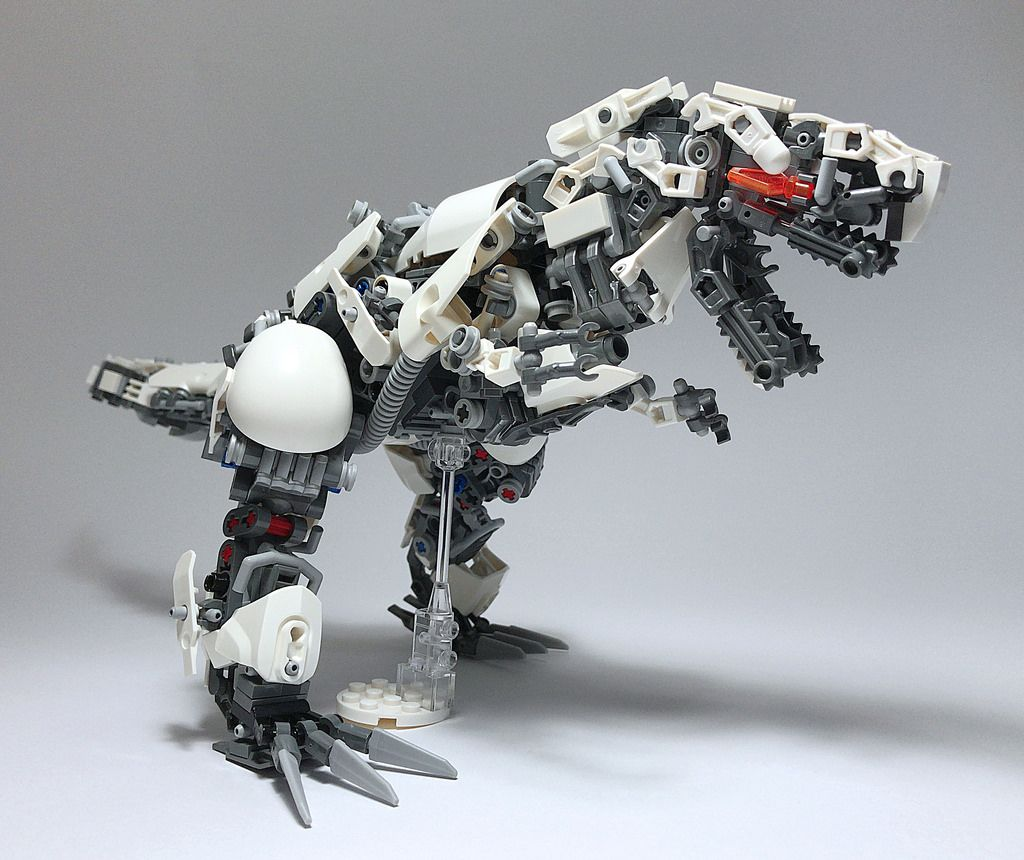 """""""LEGO T-REX_01"""" by ToyForce 120: Pimped from Flickr"""