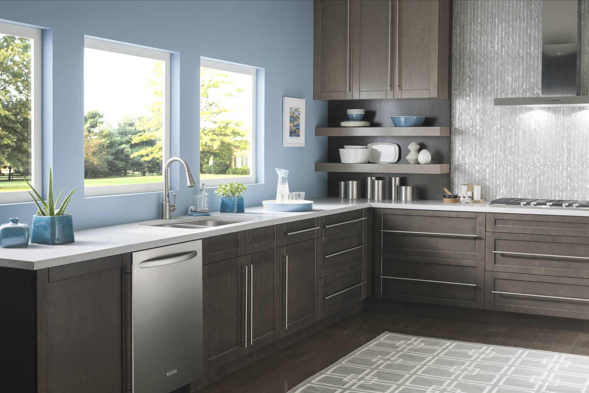 Delaney one-handle pulldown kitchen faucet with MotionSense ...