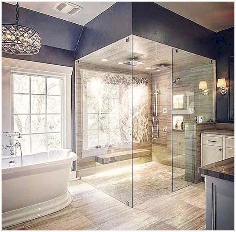 Amazing Modern Master Bathroom Decorating Ideas Luxury Bathroom Master Baths Modern Master Bathroom Decor Modern Master Bathroom