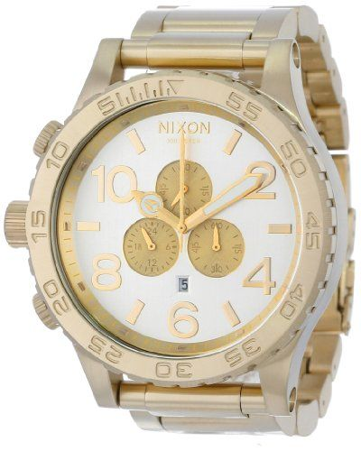 Nixon 51-30 Chrono Watch - Men's Champagne Gold/Silver, One Size - http://www.specialdaysgift.com/nixon-51-30-chrono-watch-mens-champagne-goldsilver-one-size/