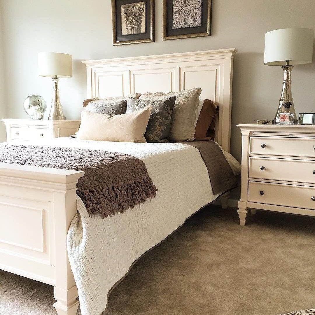Somerset Queen Panel Bed Rustic Master Bedroom Master Bedrooms Decor Farmhouse Bedroom Decor