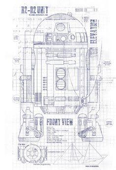 R2d2 blueprints pdf google search diorama pinterest r2d2 blueprints pdf google search malvernweather Choice Image