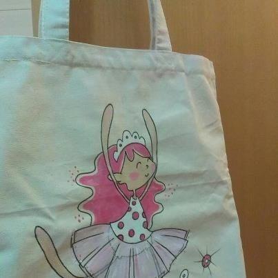 Resultado de imagen de bolsas tela pintadas bolsas de - Bolsas para pintar ...