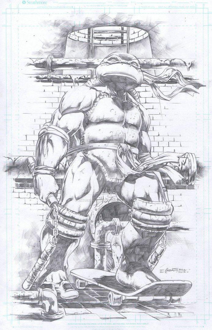 Michelangelo by Emil Cabaltierra http://emilcabaltierra.deviantart ...