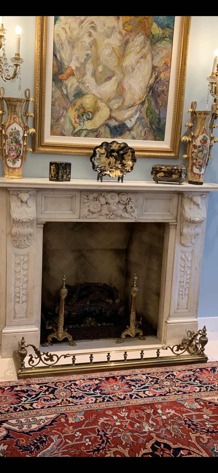 A Beautiful Marble Mantel From England Mantel Fireplace Mantels