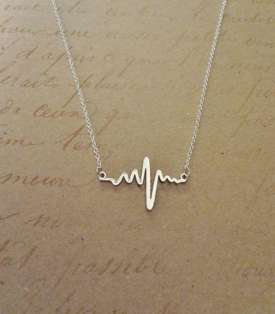 Cute Heartbeat Necklace