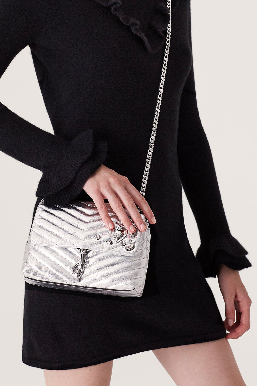 2b37b5fb79 Edie Crossbody With Charms | Rebecca Minkoff, crossbody bag, crossbody bag  for travel, crossbody bag casual, crossbody bag leather, crossbody bag  silver, ...