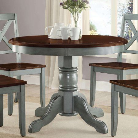 Better Homes And Gardens Cambridge Place Dining Table Blue