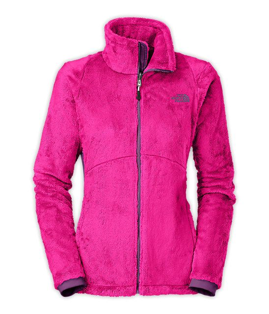 abrigo north face granate