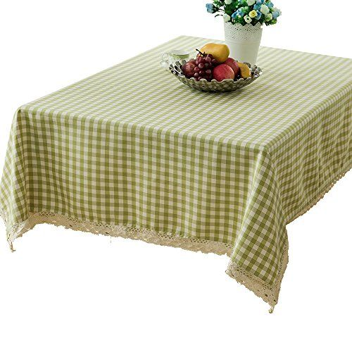 LANG Spillproof Tablecloth 60 X Zipper Tablecloth For Outdoor Use With  Umbrella Covered Tables Light Green