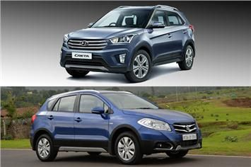 Hyundai Creta Vs Maruti S Cross Feature Comparison Hyundai