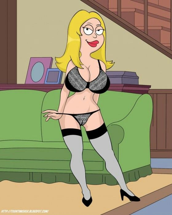 Sexy francine american dad cute dress all