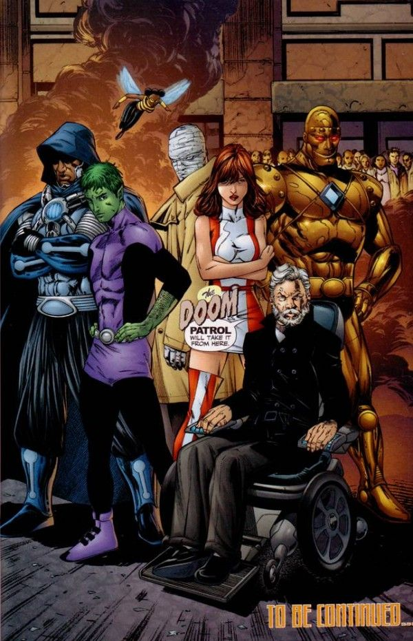 Doom Patrol  The New Look For The New 52  Comics  Doom