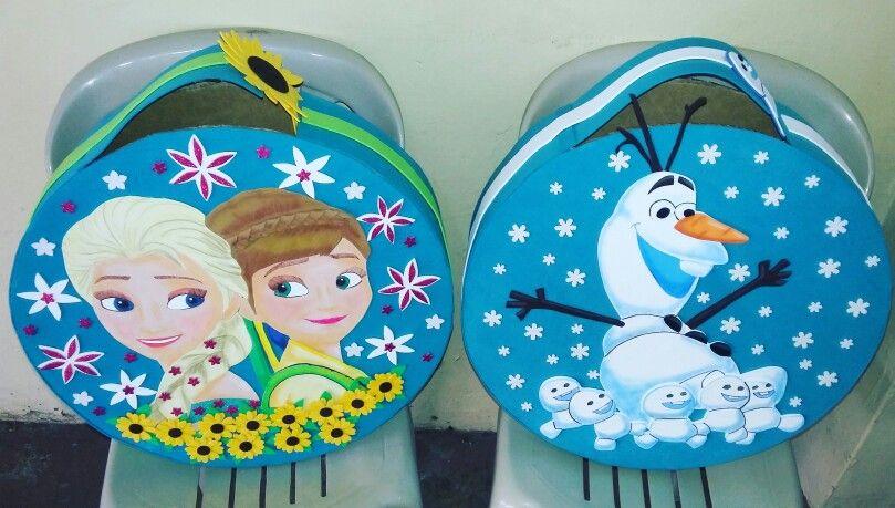 Piñatas reutilizables  frozen fever