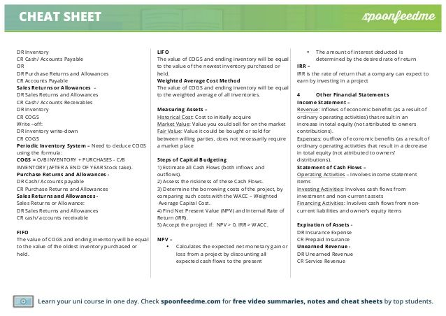 Accounting Journal Entries Cheat Sheet Accounting Career