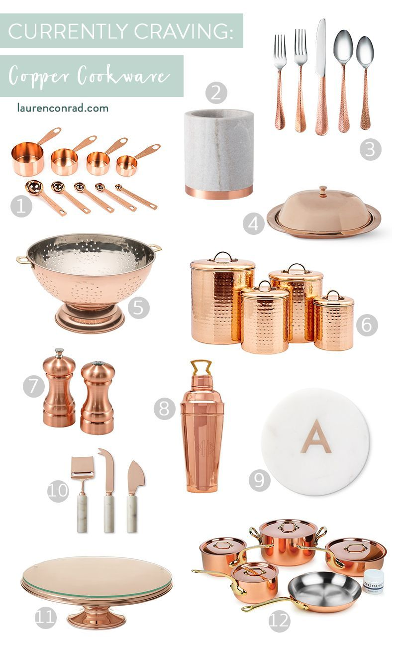 Home Accessories Decor Kitchens Currently Craving Copper Kitchen Accessories Homeaccessori Copper Kitchen Accessories Copper Kitchen Decor Copper Kitchen