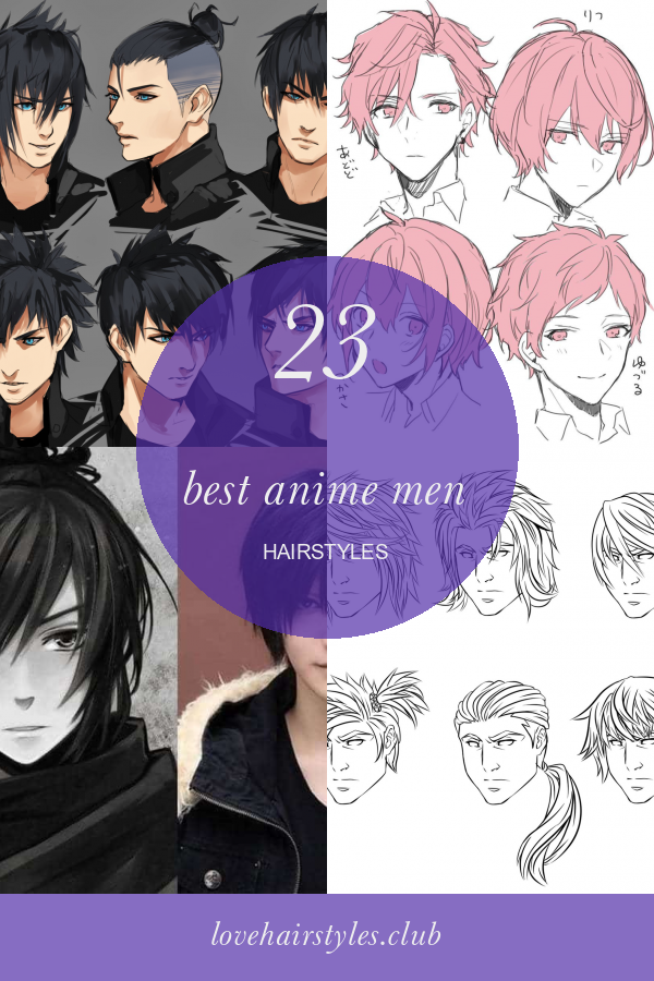 23 Best Anime Men Hairstyles In 2020 Mens Hairstyles Anime Hairstyles In Real Life Hair Styles