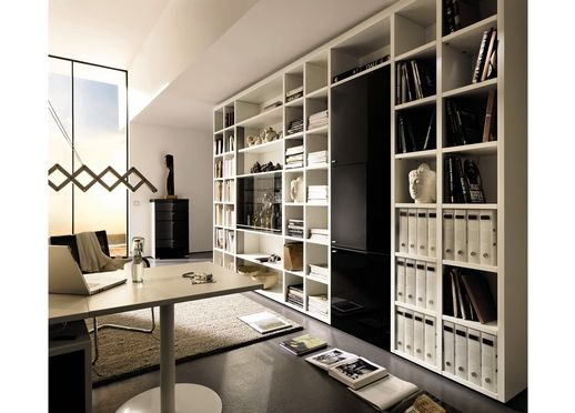 Storage System For The Office   Office Bookcase   Decoist