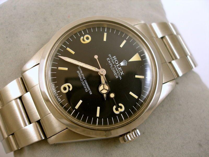 1981 ROLEX EXPLORER OYSTER PERPETUAL CHRONOMETER AUTOMATIK SAMMLER ARMBANDUHR. ARMBAND: Rolex Edelstahlarmband mit Faltschliesse für einen Armumfang von 17cm. ( Gesamtlänge der Uhr, innen gemessen ). | eBay!