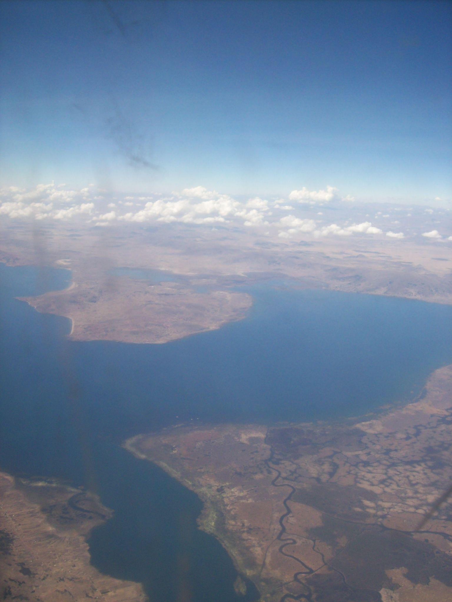 El lago mas alto del mundo
