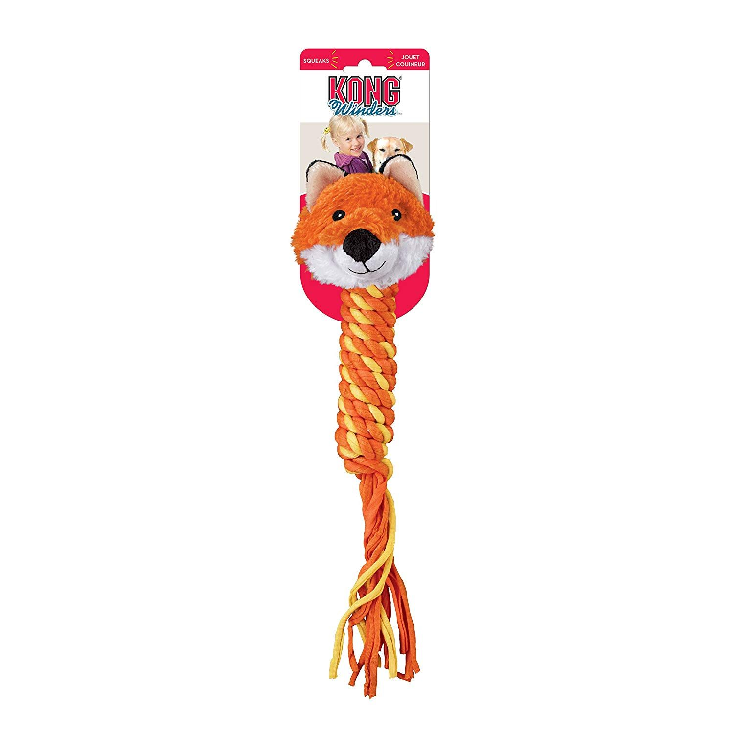Kong Winder Medium Fox Dog Toy Do Hope You Do Enjoy Our Photo
