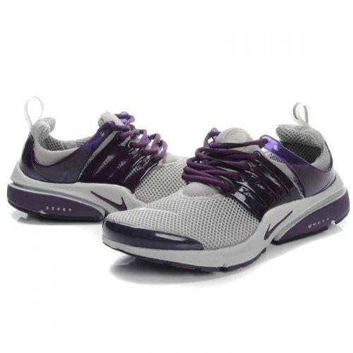 premium selection f27b5 a4e2c Womens Nike Air Presto Mesh Running Shoes-Grey Purple