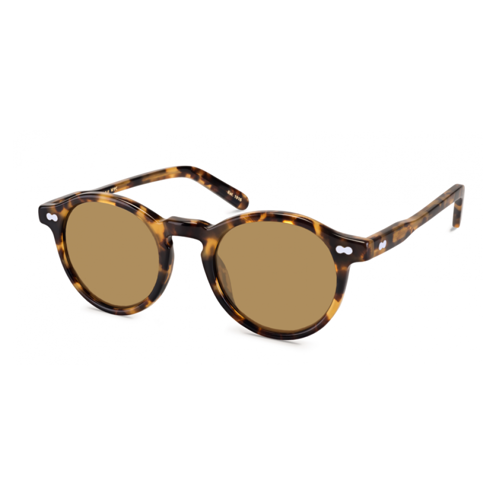 3fae3b3817 Moscot Miltzen in tortoise with brown lenses. Oversized