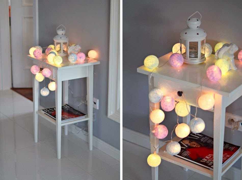 Cottonballlights cottonove love cotton ball lights around us pinterest cotton ball - Cotton ballspractical ideas ...