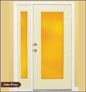 Color Tint - Amber Window Film