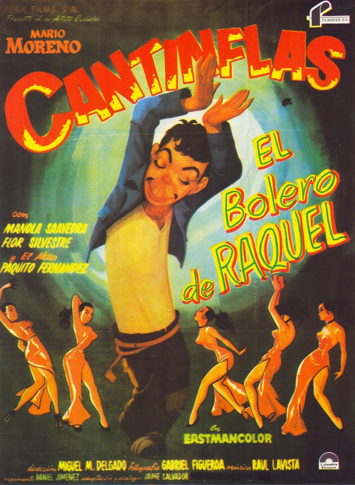 El Bolero De Raquel Movie Posters Vintage Vintage Movies Mad Movies